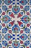 Turkish tile pattern Stock Photography