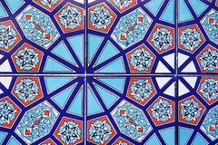 Turkish tiles Stock Photos