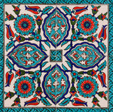 Turkish tiles stock image