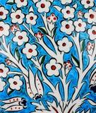 Turkish tiles royalty free stock photo