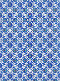 Turkish Tiles. Photo of turkish tiles, found in Rustempasa Mosque, in Istanbul Turkey Stock Images