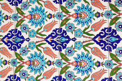 Turkish tiles Royalty Free Stock Image
