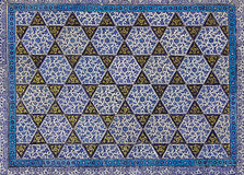 Turkish tiles. Concept from Ottoman Empire Palace royalty free stock images