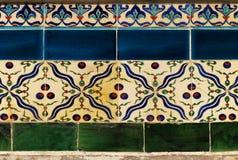 Turkish tiles Stock Image