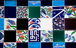 Turkish tiles Stock Photography
