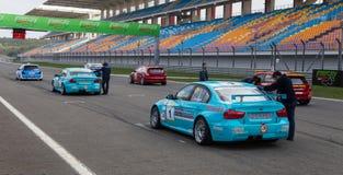 Turkish Touring Car Championship Royalty Free Stock Photo