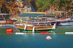 Turkish touristic boat Royalty Free Stock Photography