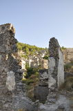 Turkish town ruins Royalty Free Stock Image