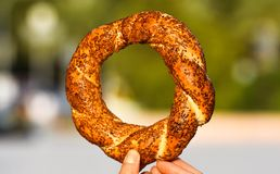 Turkish Traditional Bakery Bagel Royalty Free Stock Photos