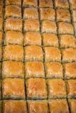 Turkish traditional baklava desert at the Market Stock Photo