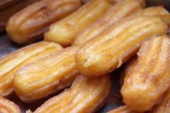 Turkish traditional dessert called Tulumba Royalty Free Stock Image
