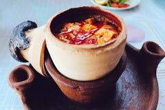 Pottery Kebab in Cappadocia, Turkey royalty free stock images