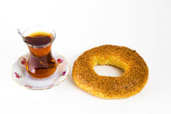 Turkish traditional hot drink Royalty Free Stock Photos