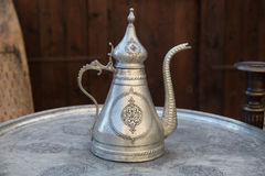 Turkish Traditional Metal Pitcher Royalty Free Stock Photo