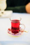 Turkish Traditional Pomegranate Tea Stock Photo