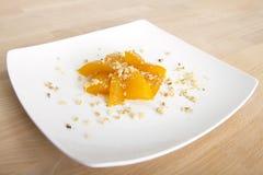 Turkish Traditional Pumpkin Dessert Stock Photo