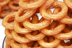 Turkish traditional sweet rings Royalty Free Stock Photography