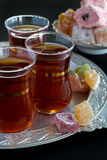 Turkish Traditional Tea Royalty Free Stock Photos
