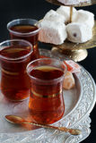 Turkish Traditional Tea Stock Photos
