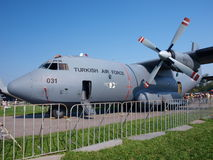 Turkish Transall C-160, Radom, Poland Royalty Free Stock Photo