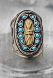 Turkish tribal ring Royalty Free Stock Photos