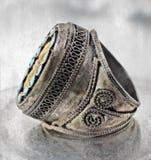 Turkish tribal ring Royalty Free Stock Image
