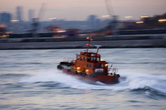 Turkish Tugboat, Istanbul Stock Photography