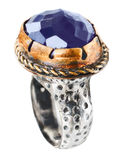 Turkish Vintage Style Ottoman Ring Royalty Free Stock Photography