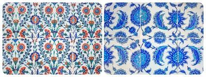 Turkish Wall Tiles Couple Stock Photo
