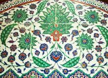 Turkish Wall Tiles Stock Photos