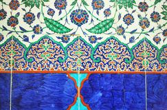 Turkish Wall Tiles Royalty Free Stock Images