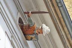 Turkish Warrior Palais Saurau, Graz Austria Royalty Free Stock Photo