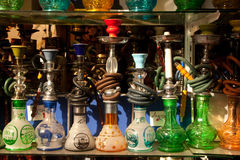 Turkish Water Pipes Stock Photography