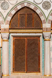Turkish Window Screens Royalty Free Stock Photography