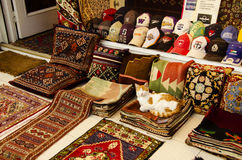 Turkish window shop Royalty Free Stock Photography
