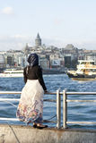 Turkish woman Royalty Free Stock Photo