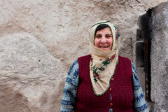 Turkish woman on the street Stock Photos