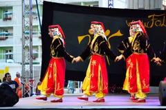 Turkish women dancing Stock Photography
