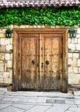 Turkisk dörr arkivbild