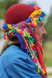 Turkisk dansare i traditionell dräkt arkivfoto