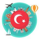 Turkisk dragning Arkivfoton