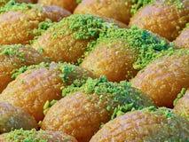 Turkisk efterrätt & x28; orientalisk sweets& x29; Royaltyfria Bilder
