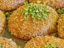 Turkisk efterrätt & x28; orientalisk sweets& x29; Arkivbilder
