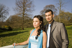 Turkisk ethnic engagement wedding couple Royalty Free Stock Images