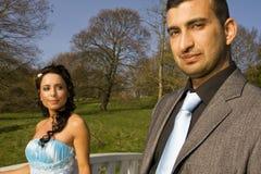 Turkisk ethnic engagement wedding couple Stock Photo