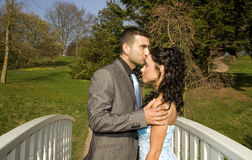 Turkisk ethnic engagement wedding couple Stock Image