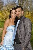 Turkisk ethnic engagement wedding couple Stock Photography