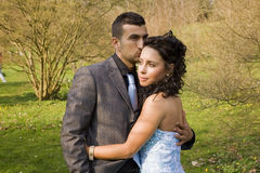 Turkisk ethnic engagement wedding couple Royalty Free Stock Photos
