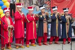 Turkisk festival Arkivfoton