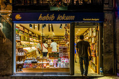 Turkisk fröjd shoppar Royaltyfri Foto